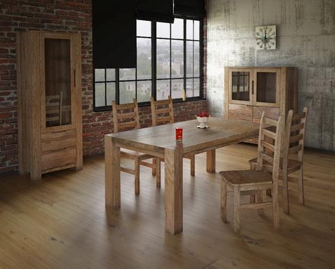 коллекция мебели для гостиной Riva, витрина, стол