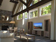 коллекция мебели для гостиной Riva, витрина, тумба тв